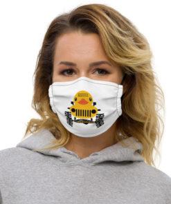 JeepJeepDuck.com Logo Face mask