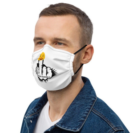 Go Duck Yourself! Face mask
