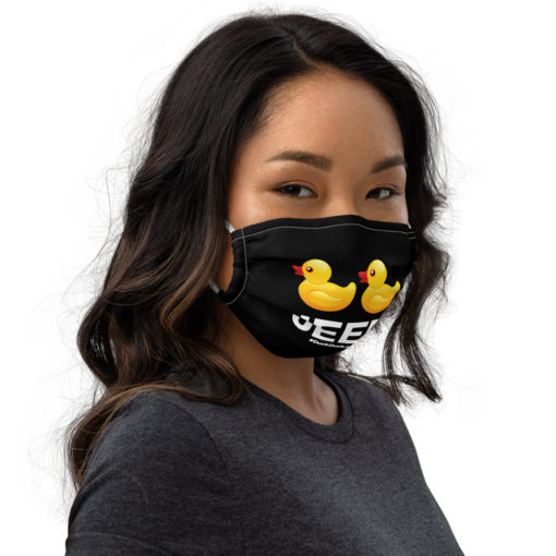 DuckDuckJeep Face mask