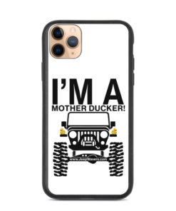 I'm a Mother Ducker! Biodegradable iPhone case iPhone Cases DuckDuckJeep