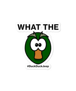 What The Duck! stickers