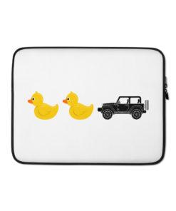 Duck Duck Jeep Laptop Sleeve Laptop Cases DuckDuckJeep