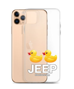 DuckDuckJeep iPhone Case