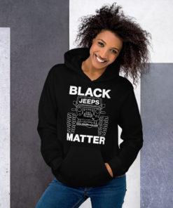 Black Jeeps Matter Hoodie