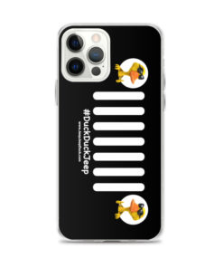 DuckDuckJeep Grill iPhone Case