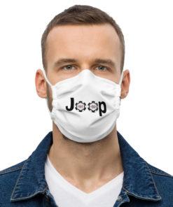 Jeep Poker Logo face mask