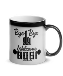 Welcome 2021 Jeep Grill Glossy Magic Mug