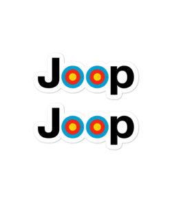 Jeep Archery Logo Bubble-free stickers (X2) Stickers Archery