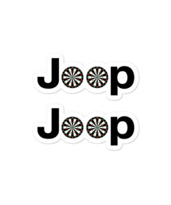 Jeep Darts Logo stickers