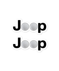 Jeep Golf Ball Logo stickers