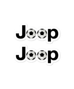 Jeep Soccer Logo stickers
