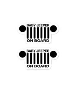 Baby Jeeper On Board stickers