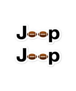 Jeep Football American Logo stickers