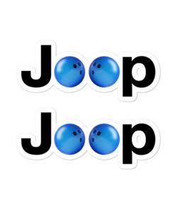 Jeep Bowling Logo stickers