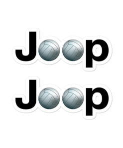 Jeep Volley Ball stickers