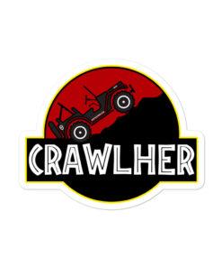 Jeep CrawlHer stickers