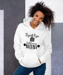 Welcome 2021 Jeep Grill Unisex Hoodie