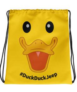 DuckDuckJeep Drawstring bag Jeep