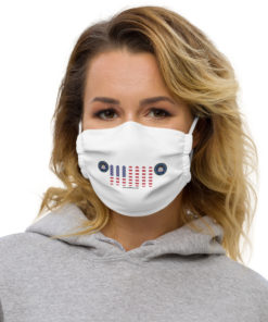 Jeep Utah Seal Grill White Face Mask