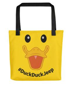 DuckDuckJeep Tote Bag