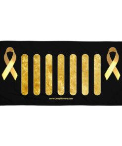 Jeep Childhood Cancer Grill Towel Towels Childhood Cancer
