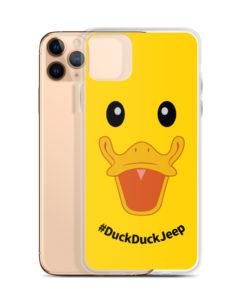 DuckDuckJeep iPhone Case Jeep