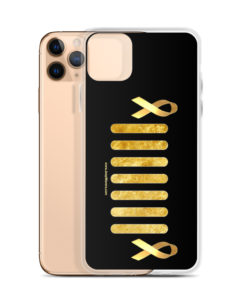 Jeep Childhood Cancer Grill iPhone Case