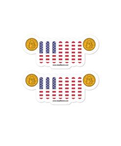 Jeep Georgia Seal Grill stickers