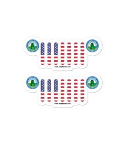 Jeep North Dakota Seal Grill stickers