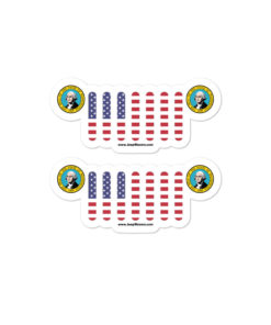 Jeep Washington Seal Grill stickers