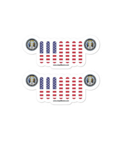 Jeep Wyoming Seal Grill stickers