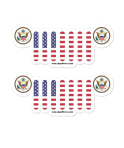 Jeep USA Seal Grill stickers