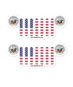 Jeep Arkansas Seal Grill stickers