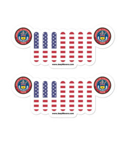 Jeep Colorado Seal Grill Bubble-free stickers
