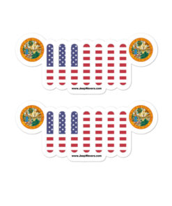 Jeep Florida Seal Grill stickers