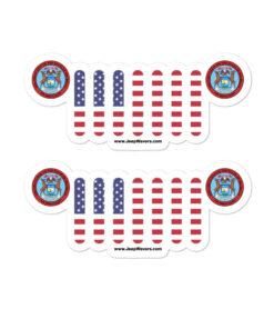Jeep Michigan Seal Grill stickers