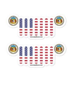 Jeep Missouri Seal Grill stickers