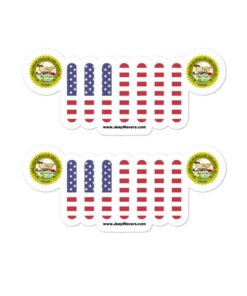 Jeep Nevada Seal Grill stickers