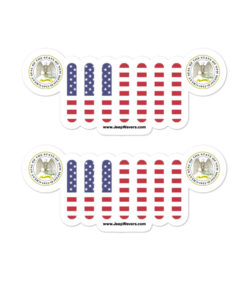 Jeep New Mexico Seal Grill stickers