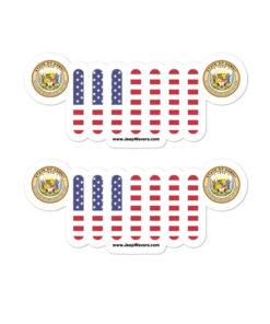 Jeep Hawaii Seal Grill stickers