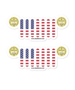 Jeep Tennessee Seal Grill stickers