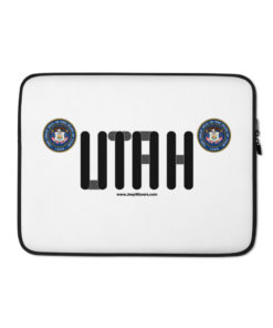 Jeep Utah Seal Grill Laptop Sleeve