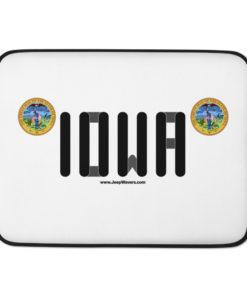Jeep Iowa Seal Grill Laptop Sleeve