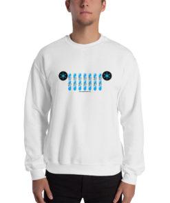 Jeep Snowboard Grill Sweatshirt