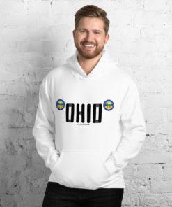 Jeep Ohio Seal Grill Unisex Hoodie