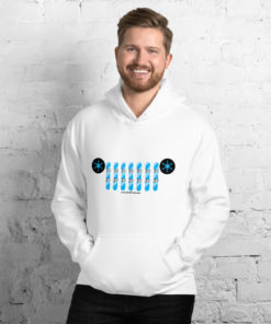 Jeep Snowboard Grill Hoodie