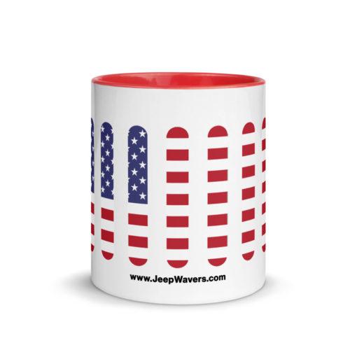 Jeep USA Seal Grill Mug