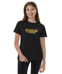 Jeep Childhood Cancer Grill Youth Jersey T-Shirt