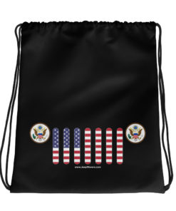 Jeep USA Seal Grill Drawstring bag