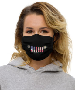 Jeep Mississippi Seal Grill Black Face Mask